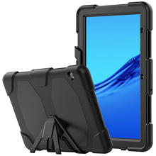 Heavy Duty Protection Case for huawei mediapad t3 10 case Soft Silicone Full body Cover with Kickstand for huawei mediapad t5 t8