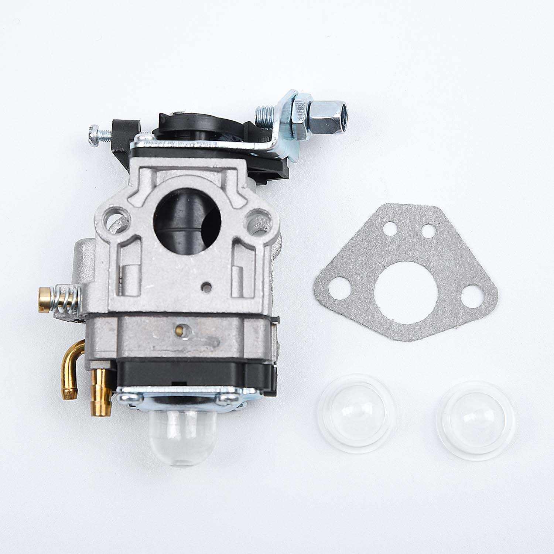 น้ำมัน Bubbles คาร์บูเรเตอร์ Carb ปะเก็นเครื่องยนต์ 15 มม.เปลี่ยนสำหรับ Brushcutter 43cc 49cc 52cc Strimmer Cutter Chainsaw