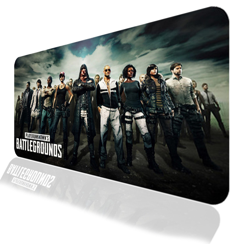 Large Size PUBG Gaming Mouse Pad PC Computer Gamer Game Mousepad Keyboard Wireless Mouse Mats Lock