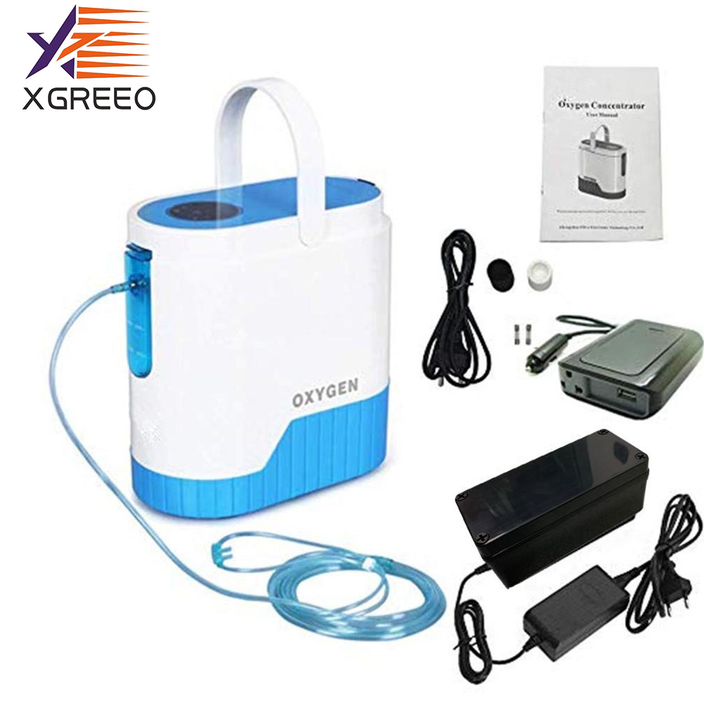 XGREEO Home  Concentrator For Medical Use Portable Oxygen Generator Machine Oxygen Bar