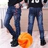 Children Boys Jeans 2019 Spring Kids Denim Pants Boys Casual Pencil Jeans Pants.4Y-15Y Children Letter Straight Trousers 1