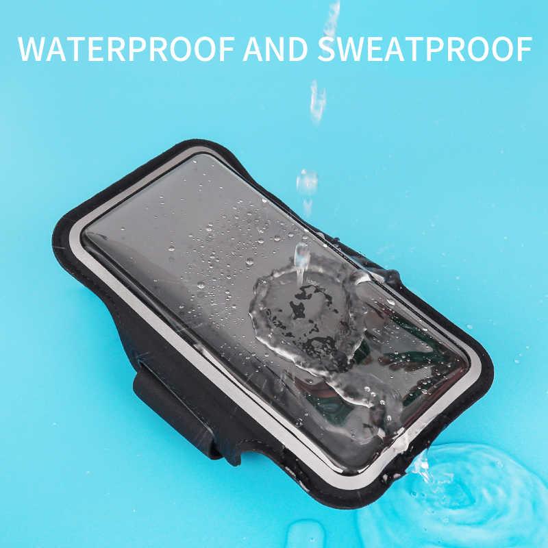 Universalกลางแจ้งผู้ถือโทรศัพท์กรณีArmbandกีฬาสำหรับiPhone Samsung Huawei Gymสมาร์ทโฟนกระเป๋าแขนแขนฟิตเนส