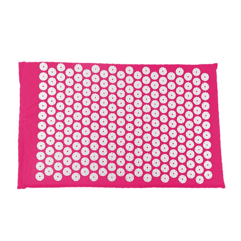 Acupressure Massage Mat with Pillow set to body Relaxation to Release Stress and Tension 19