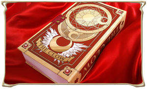 Image 5 - Anime Card Captor Sakura KINOMOTO Action Figured Printed Paper The Clow cards Magic card Collection Cosplay Set doll New Gifts