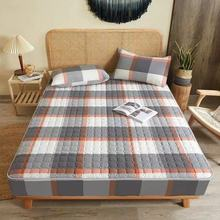 3 PCS Bed Mattress Cover Cotton Fitted Sheet Protector Pad Bed Comfortable Twin Queen Quilted Warm bed