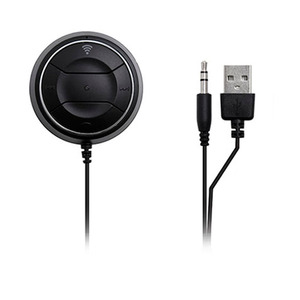 Image 4 - JaJaBor Bluetooth 4.0 Hands Free Car kit with NFC Function +3.5mm AUX Receiver Music Aux Speakerphone 2.1A USB Car Charger