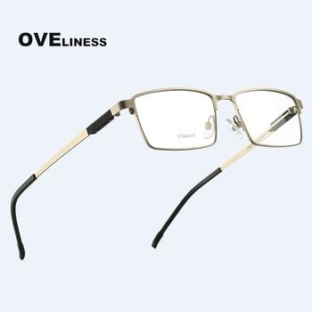 цена на Titanium Alloy eye Glasses Frame for women men 2020 myopia prescription clear glasses eyeglasses full spectacle eyewear frames