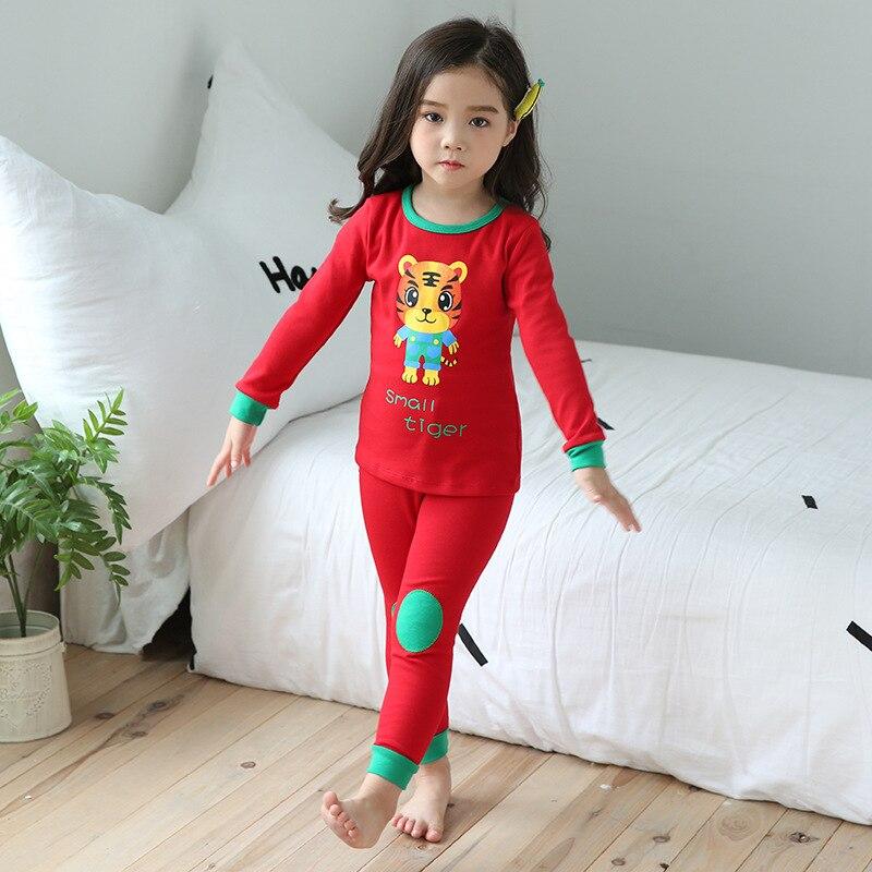 CHILDREN'S Underwear Suit Pure Cotton BOY'S Girls Cotton Jersey Autumn And Winter New Style Pajamas Baby Thermal Underwear Track