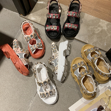 Summer Rhinestone Women Sandals shoes women 2020 Breathable