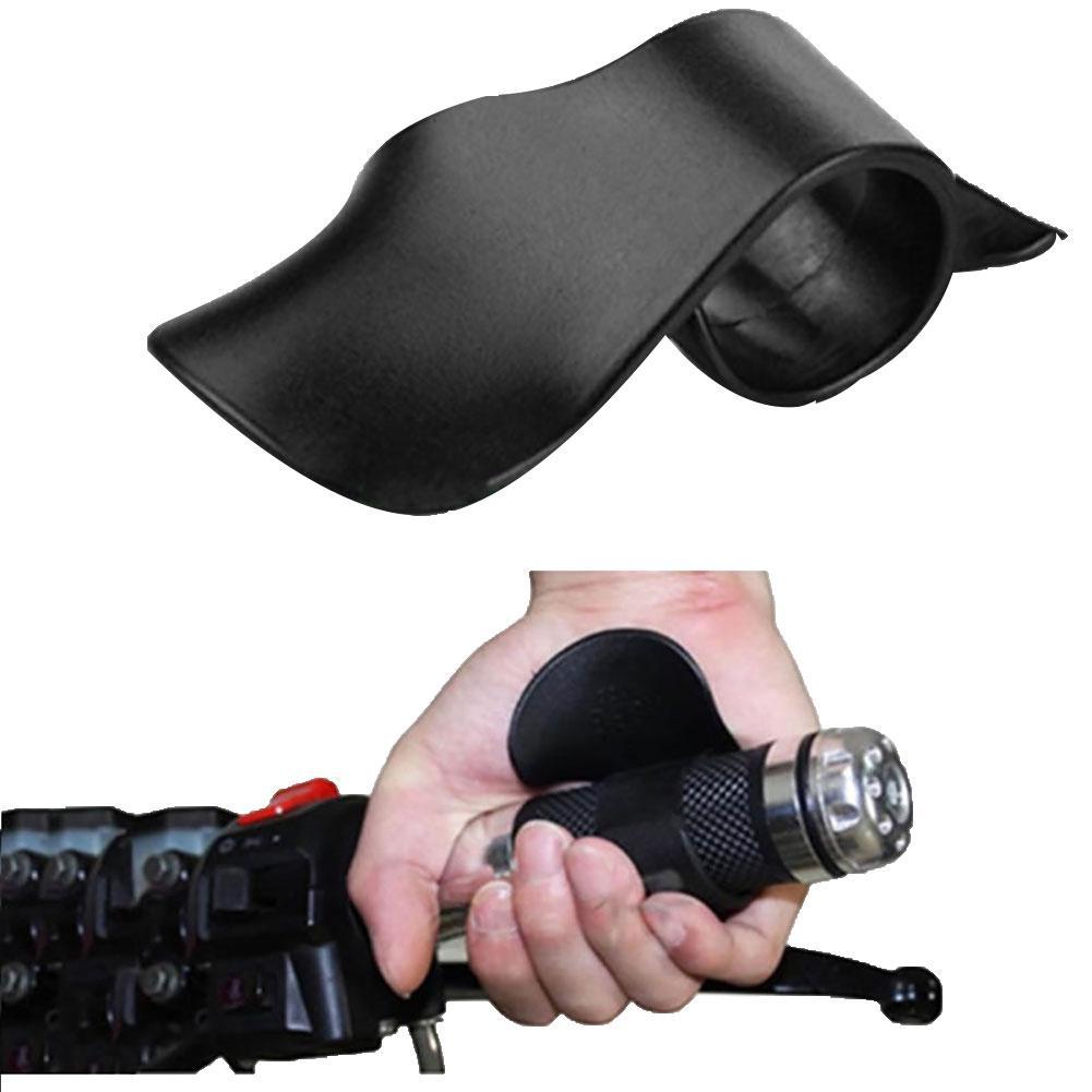 Motorcycle Motorbike Handle Throttle Assist Hand Wrist Rest Aid Grip Booster|Handlebar| |  - title=