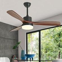 Светодиодный потолочный вентилятор btx для спальни деревянные