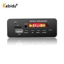 DC 5V 12V Bluetooth 5.0 MP3 WMA ถอดรหัสคณะกรรมการโมดูล USB SD/TF AUX FM Call RECORDING เสียง MP3 สำหรับรถยนต์ DIY