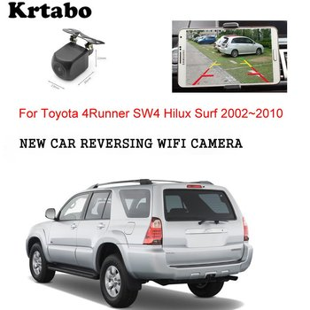 Car wireless rear camera For Toyota 4Runner SW4 Hilux Surf 2002~2010 reversing  HD cam CCD night vision waterproof high qualit