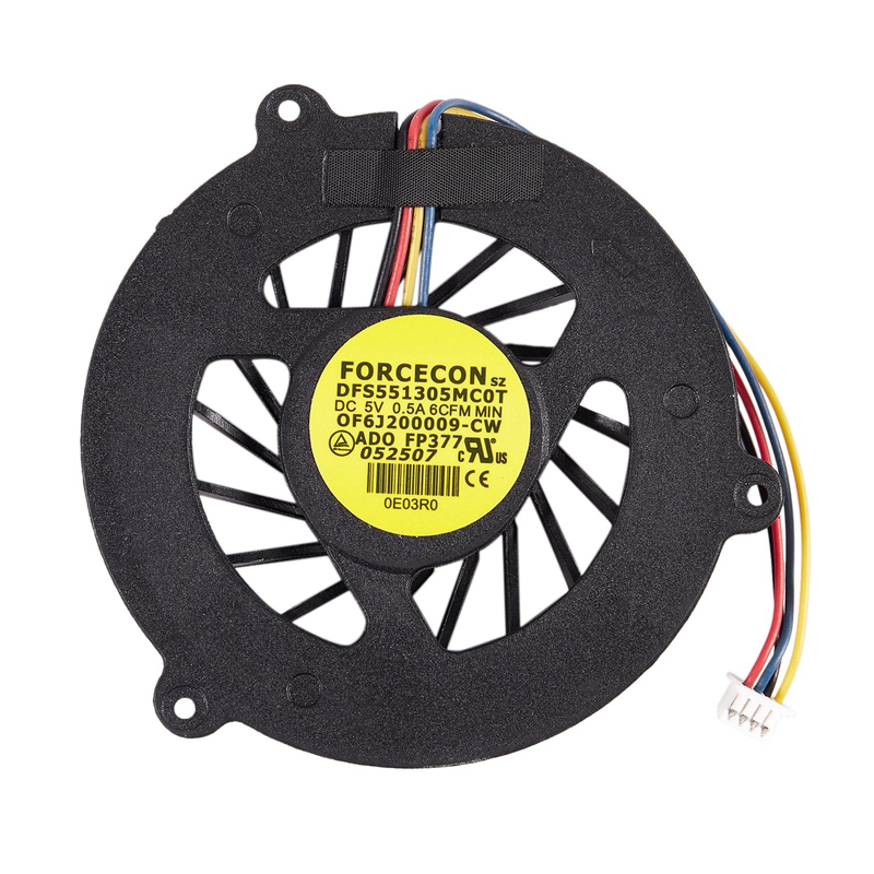 XMX-New For Asus M50 G50 G50V G50VT G51 G51VX G60 N50 N50VN-1A CPU FAN KDB05105HB -7F36