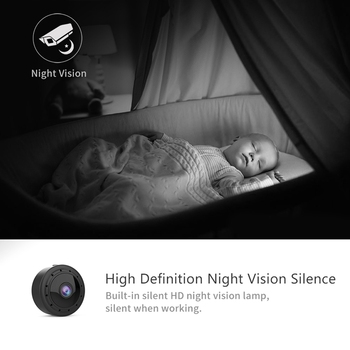 W11 Mini Camera WIFI Small Cam 1080P IR Night Vision Micro Camera Mobile Detection Camcorder For IOS Android Windows