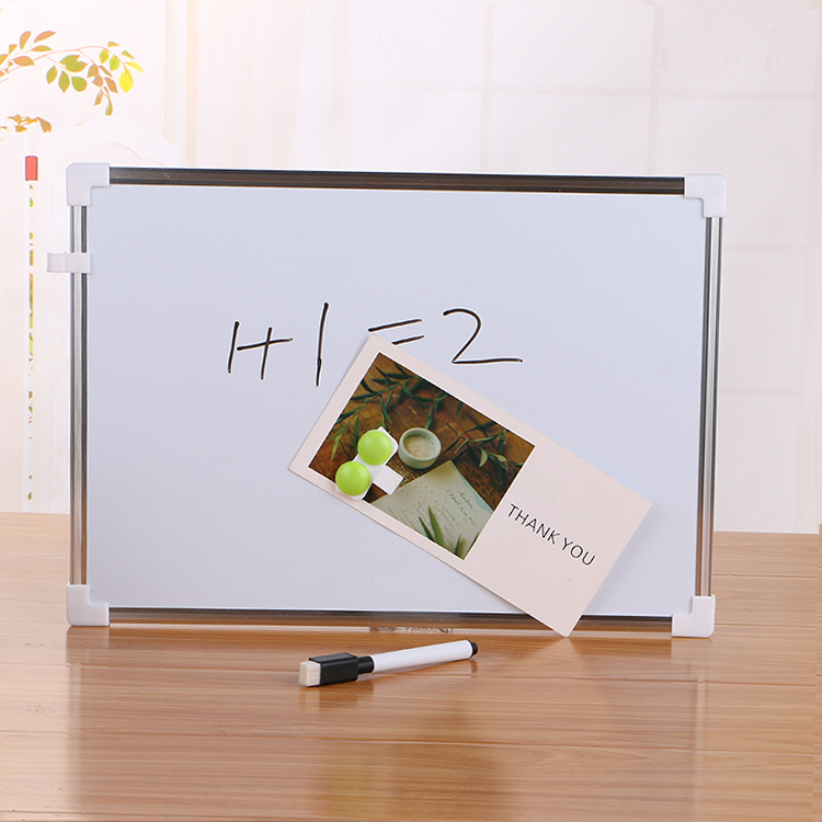 Creative Double-sided Magnetic Whiteboard Children Students Metal Writing Message Painting Calligraphy Board