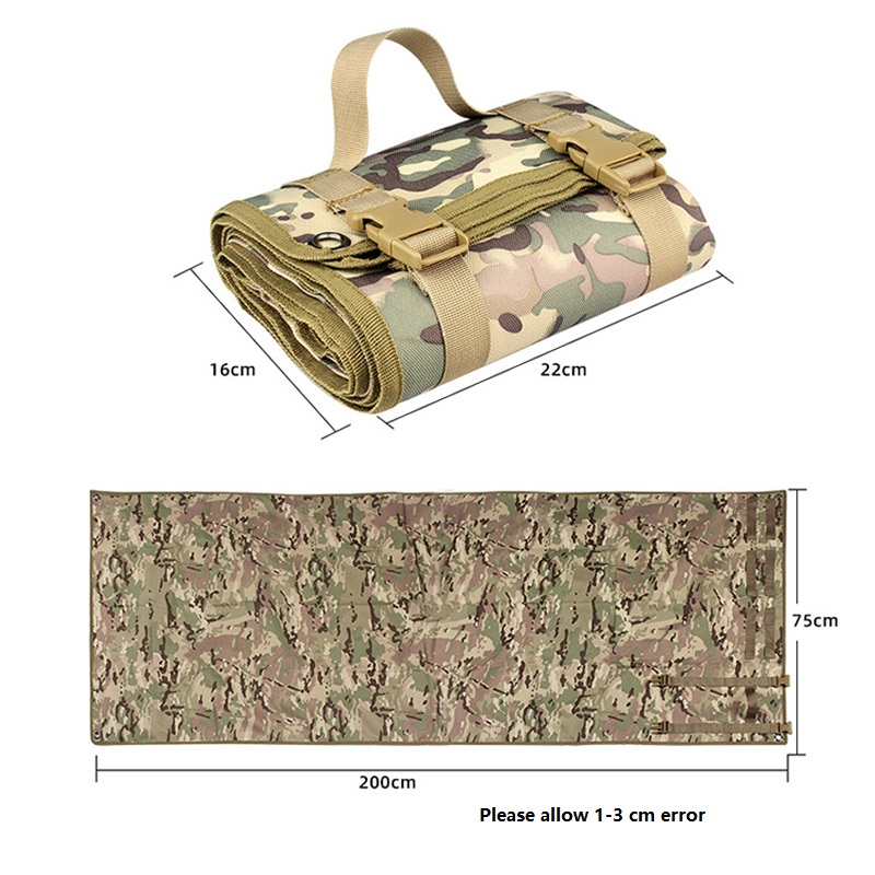 Image 2 - Outdoor Gathering Mat Shooting Pad Nonslip Roll Up Portable Shooting Mat for Outdoor Training Camping Airsoft Folding Mat GearHunting Gun Accessories   -