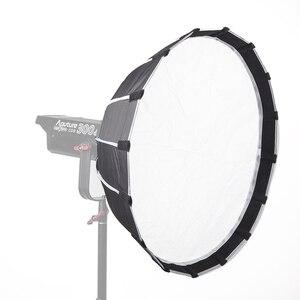 Image 2 - Aputure אור כיפת מיני השני רך box פלאש מפזר עבור אור סערת 120 וcob 300 סדרת Bowens הר LED אורות