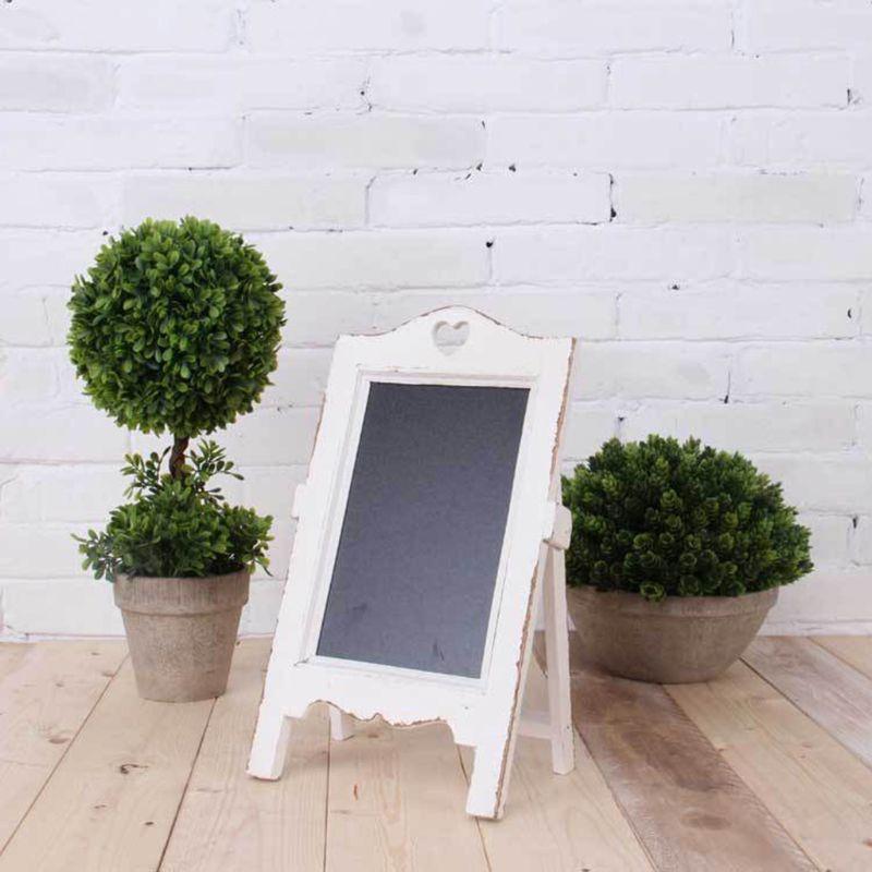 Wooden Desktop Memo Message Blackboard Chalkboard Easel Restaurant Restaurant AXYF