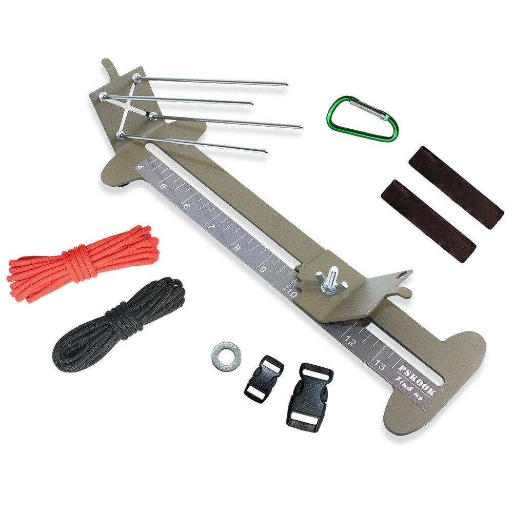 Monkey Fist Jig And Paracord Jig Bracelet Maker Paracord Tool Kit Adjustable Metal Weaving DIY Craft Maker 4