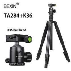 Professional Tripod Travel Lightweight Portable Flexible Camera Ball Head Tripod Stand For Nikon Sony Digital SLR DSLR Camera
