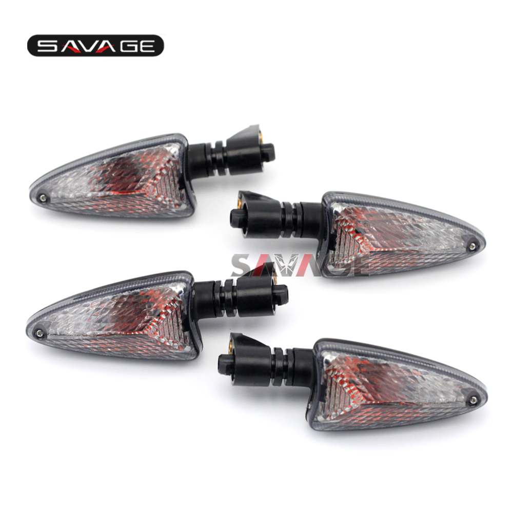 For BMW R1200R 07-14 R1200 GS 04-12 R1200GS LC 15-16 Motocycle Front amp Rear Blinker Turn Signal Light Indicator Lamp