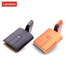 Lenovo n700 modo duplo bluetooth 4.0 e 2.4g sem fio toque mouse ponteiro laser