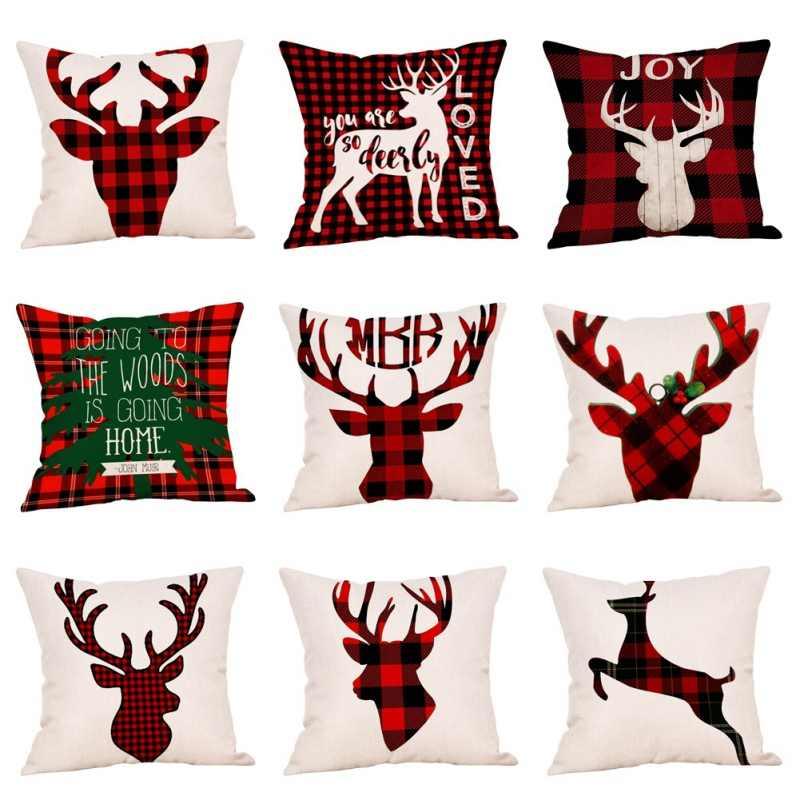 Hot Phong Cách Bắc Âu Trang Trí Giáng Sinh Vỏ Gối Ném Gối Nhà Ghế Giường