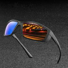 LongKeeper Polarized Sunglasses Men Brand Designer Fashion Anti-Glare Sun Glasses Women Mirror Driving Goggles UV400 Gafas