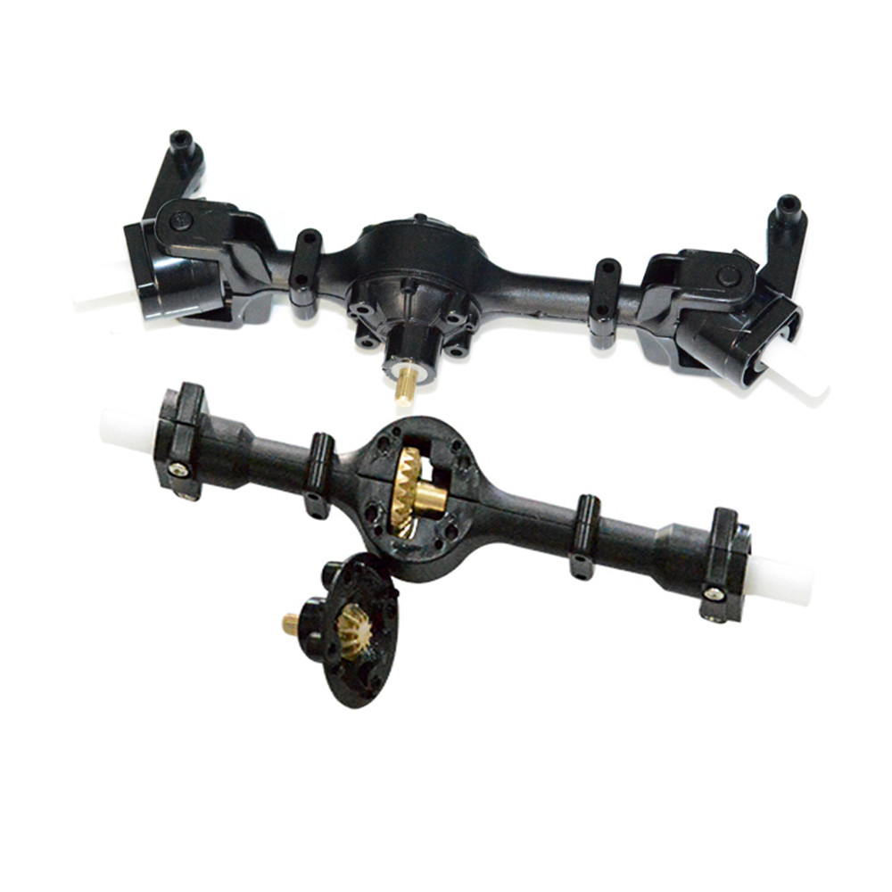 Front Rear Bridge Axle W/ Metal Gear For WPL B14 B24 C14 C24 Fayee FY001 FY002 Rc Car Parts