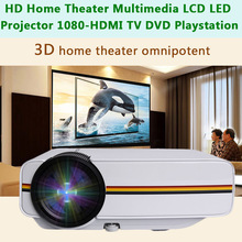 Mini Household Projector HD 1080P Multimedia LED Video Projector AS99