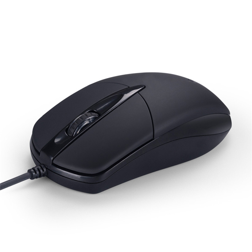 Universal USB Wired Mouse for Business Home Office Gaming Optical 1200DPI Mouse for PC Laptop 1.3M Cable USB Mice 1