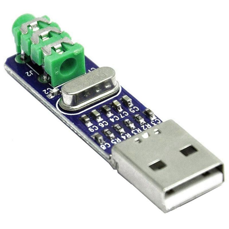 5V USB Powered PCM2704 MINI USB Sound Card DAC Decoder Board For PC