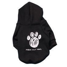Худи для собак одежда домашних питомцев пальто куртки хлопковая