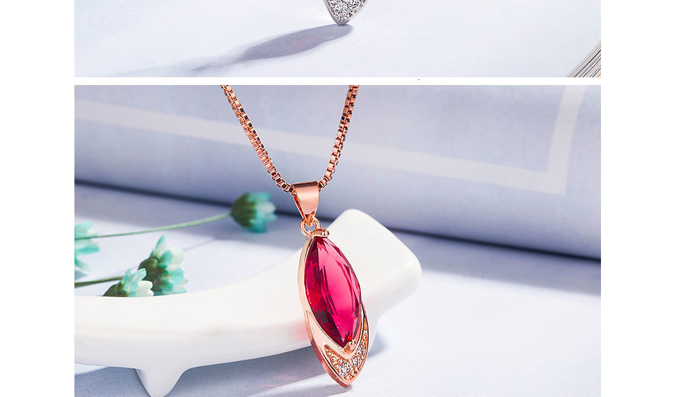 Hea72fdee1dac400da821b4a4bc3fc8d6A Exquisite Ruby Necklaces With Pendant for Women