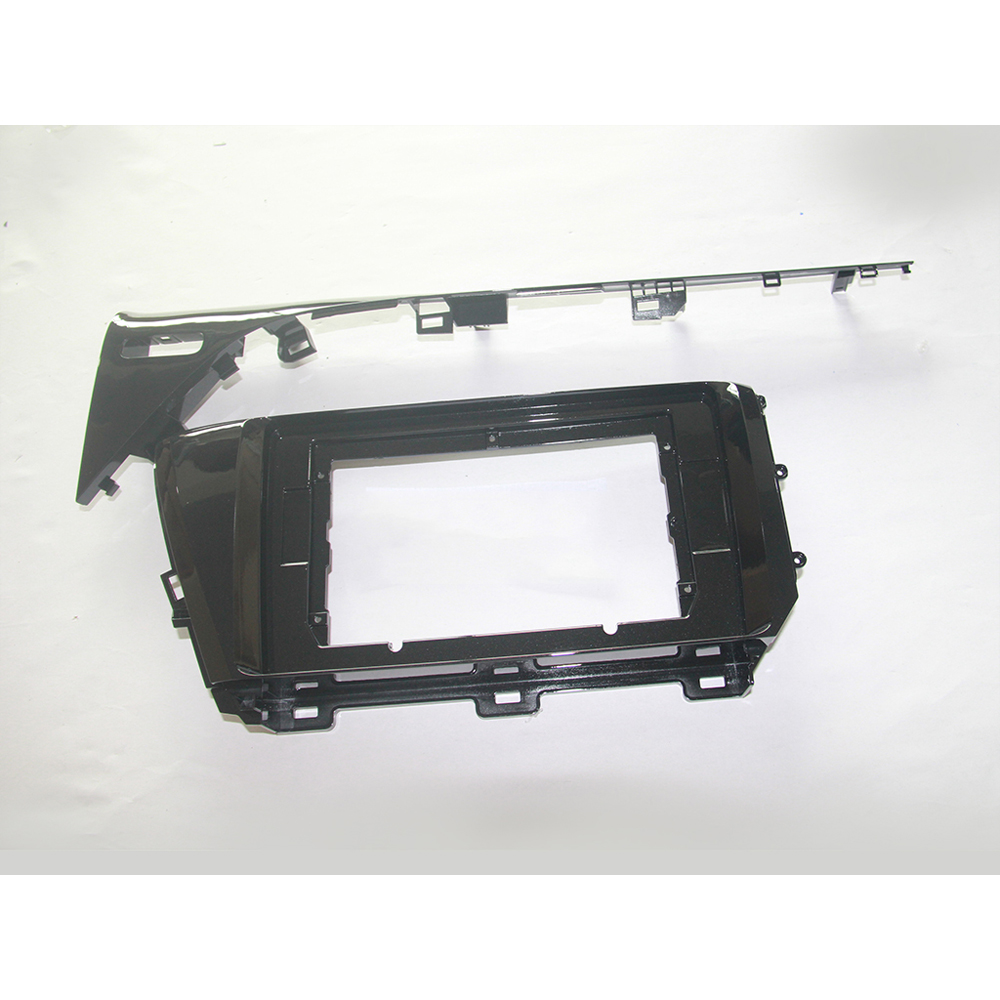 HACTIVOL トヨタカムリのための 2 喧騒車のラジオフェイスプレートフレーム 2018 高トリム車 DVD プレーヤーパネルダッシュマウントキットカーアクセサリー -