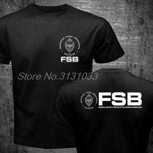 T-shirt de marque à la mode, aigle russe Kgb Fsb Spetsnaz compteur Forces spéciales pharmaceutiques Alpha t-shirts, 2018