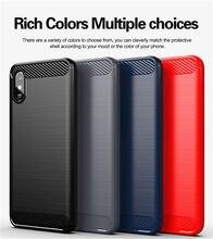 For Xiaomi Redmi 9A Case Redmi 9C Note 9S 8 Pro 8A 7A Carbon Fiber Cover Original Soft Plain Silicone Case for Xiaomi Redmi 9A