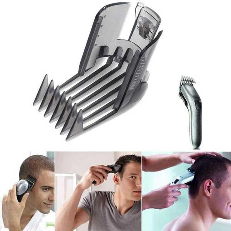 6 шт., гребень для стрижки волос, триммер, бритва, направляющая насадка для QC5130 QC5105 QC5115 3-21 мм, регулируемая