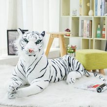 Stuffed Toy Leopard Plush-Doll Tiger-Lion Animals Realiic Soft Baby Creative 40cm Home-Furnishings