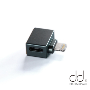 DD ddHiFi TC28i Light-ning Male to TypeC Female OTG Adapter to Apply USBC Earphones / Decoding Cables / Decoders on iOS Devices