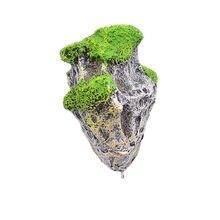 Pływające skały zawieszone kamienie akwarium krajobrazu ozdoba S - L