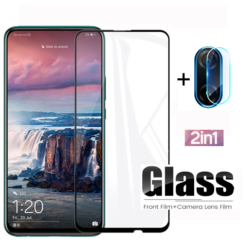 2 In 1 Tempered Glass On The For Huawei P Smart Z Rear Camera Lens Glass For Huawei P SmartZ 9H Protective Film Screen Protector