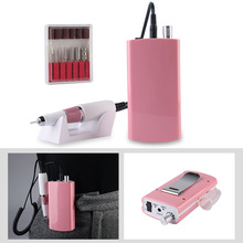 30000RPM Portable Rechargeable Nail Drill Machine Manicure Machine Electric Nail File Nail Art Tools Apparatus for Manicure Bit