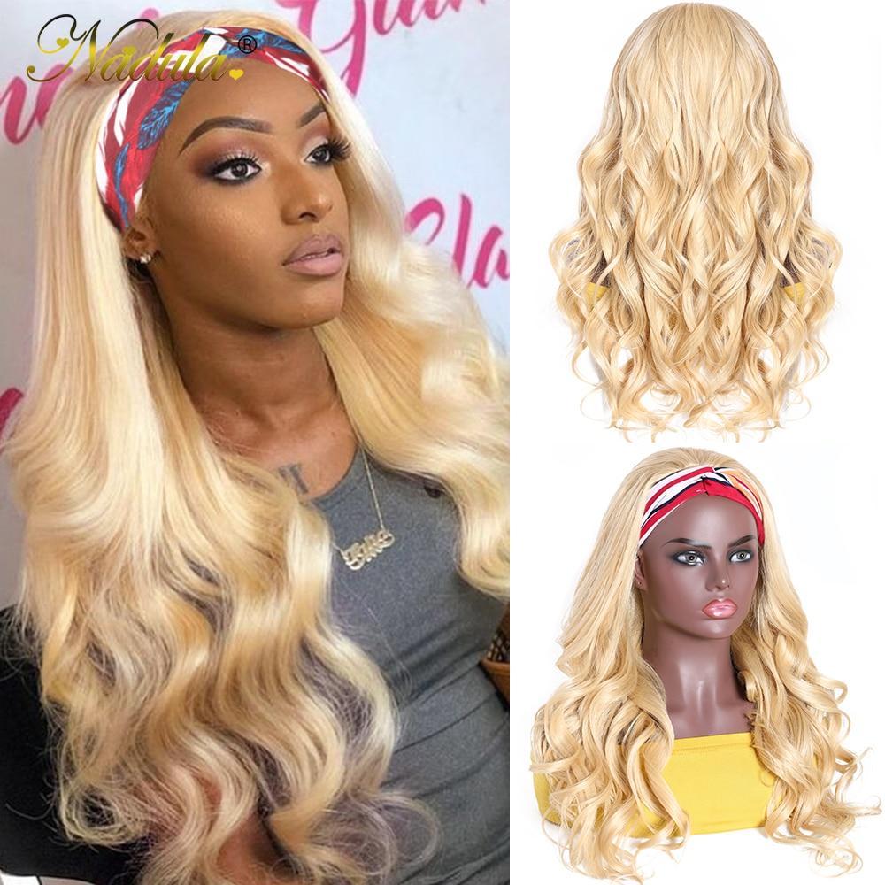 Nadula Headband Wig  Body Wave Honey Blonde  Headband Wig  Natural Wave Pre Plucked  2
