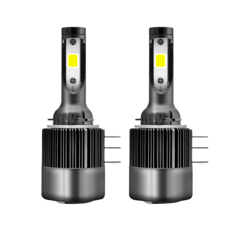 2PCS TXVS08 H15 Car Headlight Bulbs Energy Saving Waterproof LED 11000LM <font><b>110W</b></font> 6000K White 9V-32V COB image