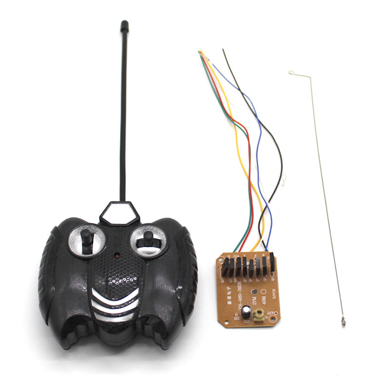 1Set DIY Toy Car Small Power 4CH <font><b>27MHZ</b></font> <font><b>Remote</b></font> Controller+ Receiver Board 4-6V Transmitter <font><b>Control</b></font> Distance 40meters for RC Part image