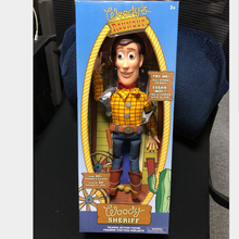 New 23cm Toy Story Talking Figures Woody Action Figure Cartoon Toys Model Dolls with box