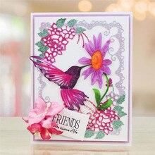 Eastshape Flower Bird Metal Dies Cutting Scrapbooking Embossing Cut Stencils DIY Cards Craft for New 2019