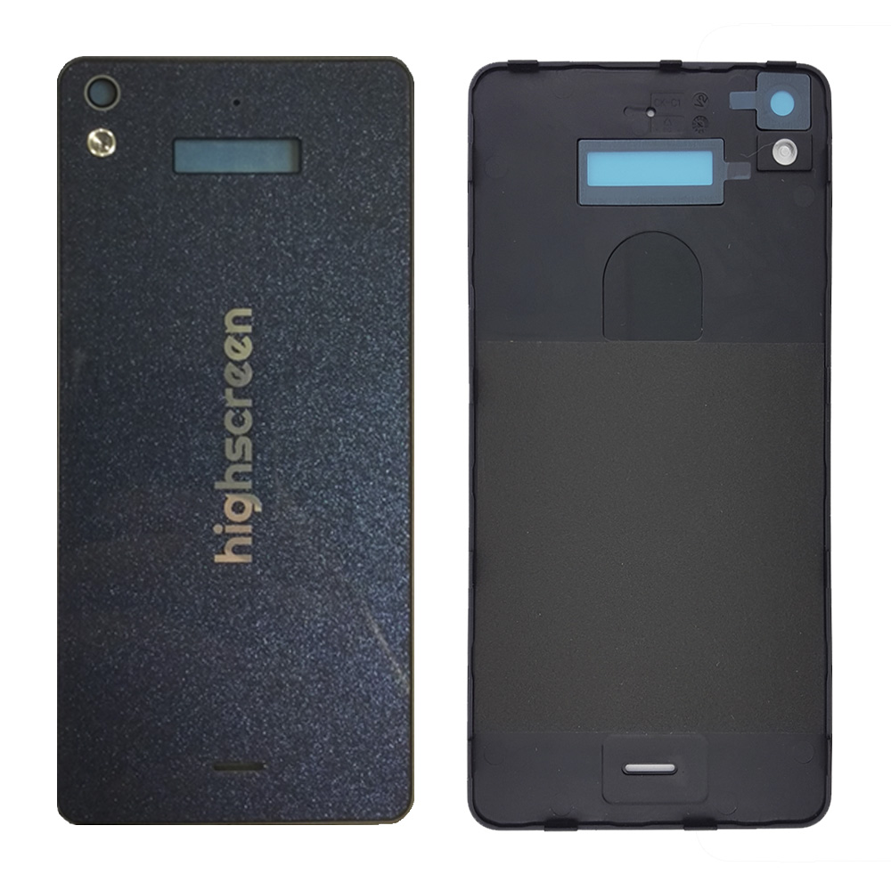 High Quality Back Housing Cover For Highscreen ICE 2 Back Cover Battery Door With Power For Highscreen ICE 2  Blue Galaxy Black